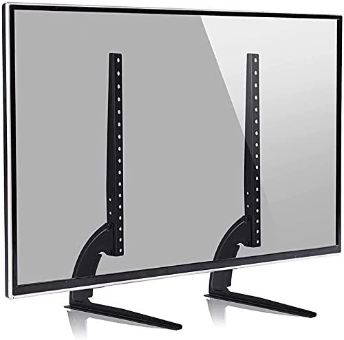 GWDFSU Soporte de TV Universal de Repuesto para televisores de 32-55 Pulgadas, Patas de TV de Pedestal de Mesa de hasta 800x400 mm (Color: Negro)