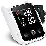 SIMBR LED Oberarm Blutdruckmessgerät mit großer LED Bildschirm, mit Aufbewahrungsbox, 2x120 Speicher, Blutdruck messen BP Gerät für präzise Blutdruckmessung und Pulsmessung, dreifarbige Erinnerung