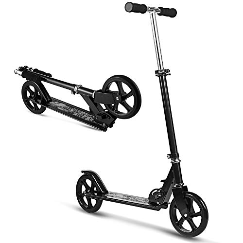 Why Choose WeSkate Scooter for Adults/Teens, Big Wheels Scooter Easy Folding Kick Scooter Durable Pu...