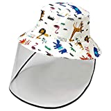 Jastore Baby Boys Girls Bucket Hat Sun Protection Hats Breathable Summer Play Hat(Style 1, 1-2T)