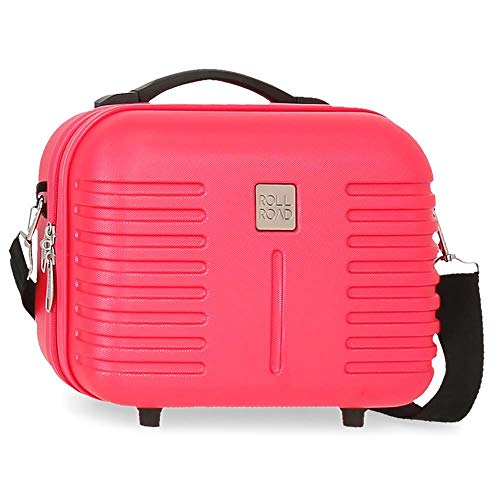 Trousse de Toilette Adaptable Roll Road India Fuchsia