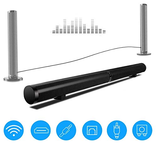 DBGS Bluetooth soundbar afneembaar bas draadloze luidspreker 3D surround stereo home theater laptop PC wand subwoofer 50 W