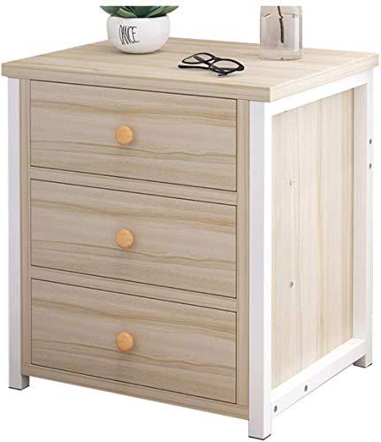 File cabinets Nachttisch Nachttisch Haushalt Schlafzimmer Drei Pumpen Montage Wohnzimmer Korridor Badezimmer Schließfach Arbeitszimmer 40 x 35 x 50 cm Beistelltisch (Farbe: Beige)