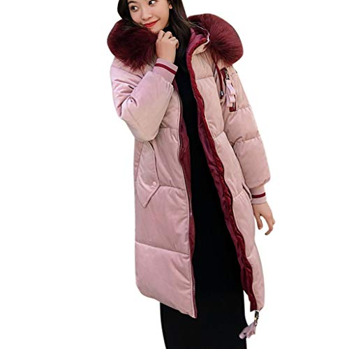 FRAUIT Dames winterjas knielang parka hoodie mantel vachtcapuchon gewatteerde jas winterjas winter warme jas outwear mode elegant streetwear kleding blouse tops outwear