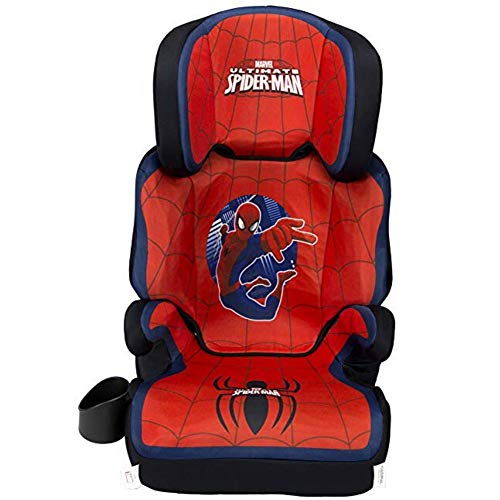 KidsEmbrace HighBack Booster Car Seat Marvel SpiderMan
