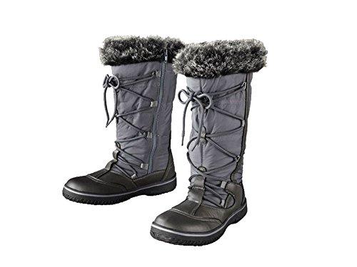 Damen TEX-Stiefel Profilierte, flexible Laufsohle Größe: 38 NEUWARE