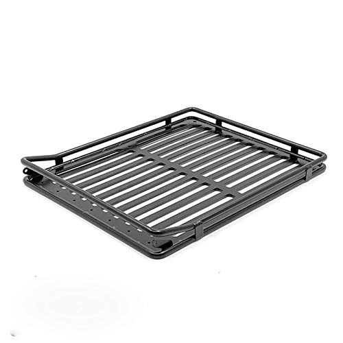DAPENGNIAO Metal Luggage Carrier Roof Rack Frame Suitable for Capo JKMAX 1st JKMAX 2020 2nd RC Car Accessories Parts Accessories (Color : Black)