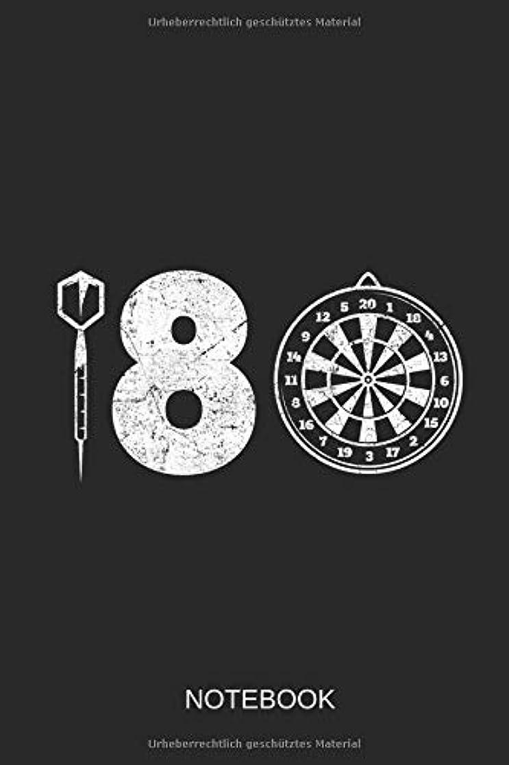 実現可能軍艦カブNotebook: 180 Darts: The perfect Notebook for every Darts Player.