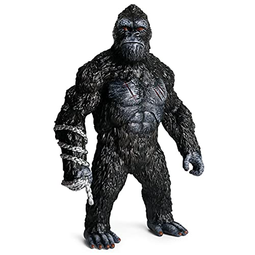 TSMALL Figura di King Kong da 31 cm, Film Godzilla vs Kong King Action Kong Model