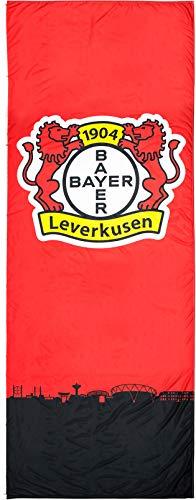 Flaggenfritze Hissflagge Bayer 04 Leverkusen - 120 x 300 cm + gratis Aufkleber