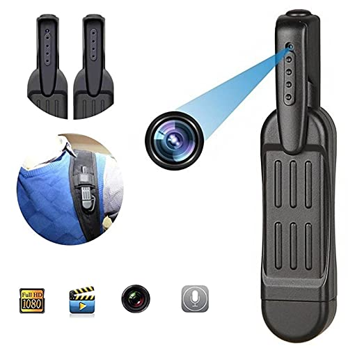 QHKYT-1080P Cámara HD Grabadora de vídeo, mini cámara oculta DVR DV Cam Gran Angular Sport Videocámara RD03 HD Wireless WiFi Cámara grabadora (sin tarjeta de memoria, HD)
