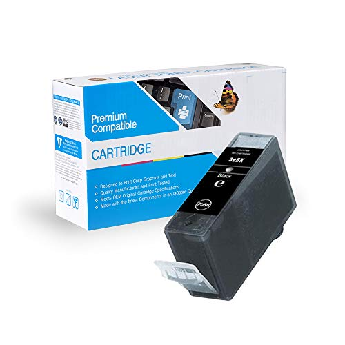 MS Imaging Supply Compatible Inkjet Cartridge Replacement for Canon BCI-3eBK (Black, 2 Pack)