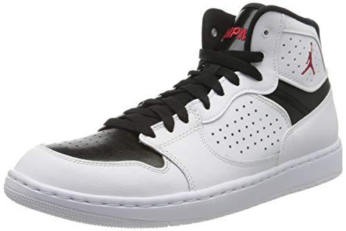 Nike Jordan Access, Scarpe da Basket Uomo, White/Gym Red/Black, 43 EU