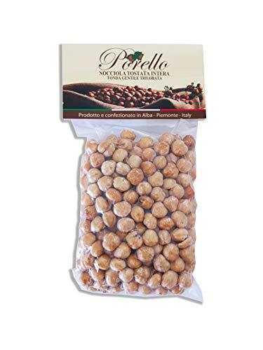 Haselnüsse Geröstet aus dem Piemont Italien - Nüsse ganz geschält blanchiert naturbelassen 100% (500 GR)