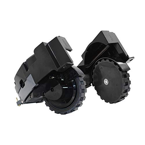 AUTUUCKEE Direct Fit Module Motor Wheel Izquierda/derecha Rueda Partes de aspirador Piezas de repuesto para IRobot para Roomba I7 E5 (negro)