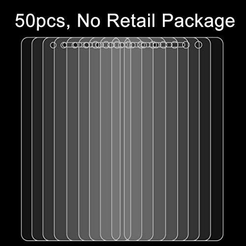 LICHONGGUI 50 PCS para BQ Aquaris X5 Plus 0.26mm 9H Dureza Superficial 2.5D Película Protectora de Pantalla de Vidrio Templado a Prueba de explosiones, sin Paquete al por Menor