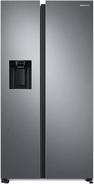 SAMSUNG RS68A8522S9, Frigorífico Side by Side, 634L, Inox, Tecnología SpaceMax™, Twin Cooling Plus, Smart Conversion™, Precise Cooling, Compresor Digital Inverter, Sistema No Frost
