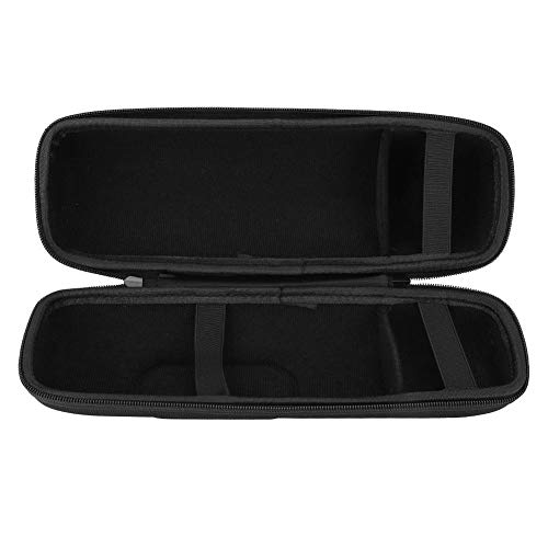 VBESTLIFE harde reistas voor JBL Charge 3, draagbare, schokbestendige Eva-beschermhoes voor JBL Charge 3 Bluetooth-luidspreker met riem zwart