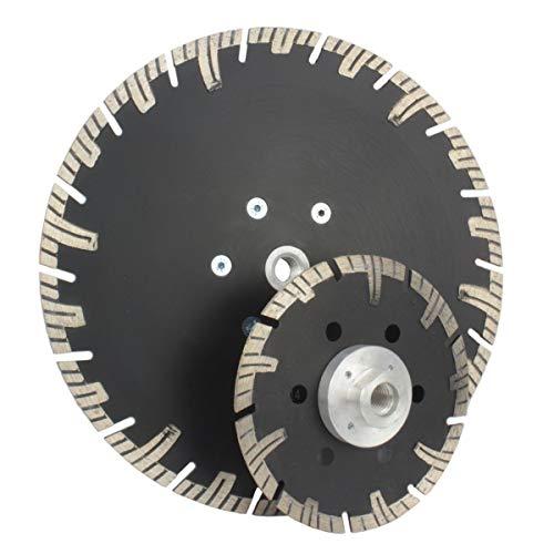125 mm Diamantscheibe Diamanttrennscheibe Trennscheibe mit Flansch M 14