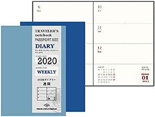 トラベラーズノート 手帳 リフィル 2020年 パスポートサイズ ウィークリー 14412006 (2020年 1月始まり)