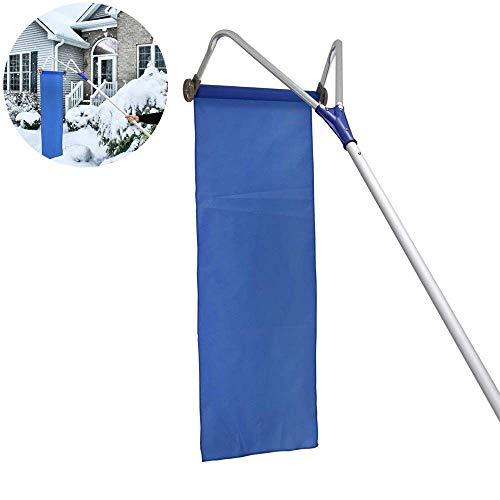 Amazing Deal BTIE Roof Snow Shovel, Garden Roof Snow Removal Tool Roller Oxford Snow Shovel Adjustab...