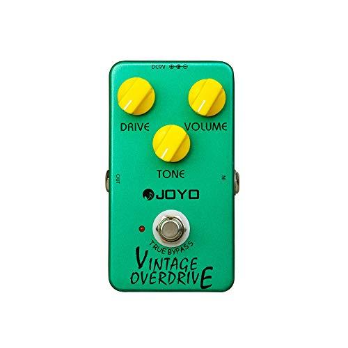 Joyo JF-01Vintage Overdrive-Pedal de efectos para guitarra