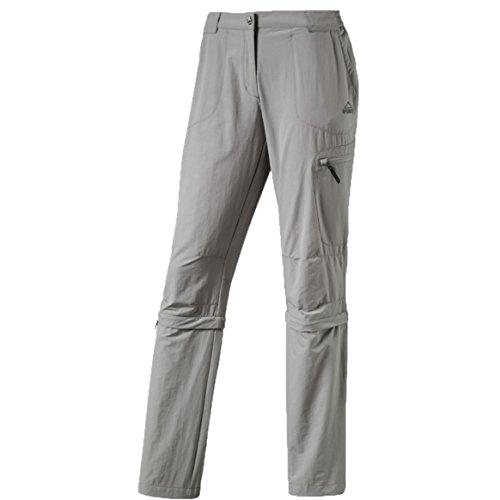 McKINLEY d-abzipphose mendoran pantalon pour femme, Argent, FR: 52 (Taille Fabricant: 50)