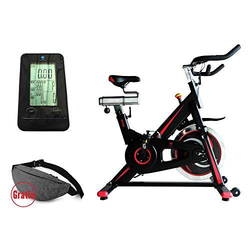 KS Kingstein Sports Indoor Cycling Bike/Speed Bike Ergometer Heimtrainer - Smartphonehalterung - Pulsmessung