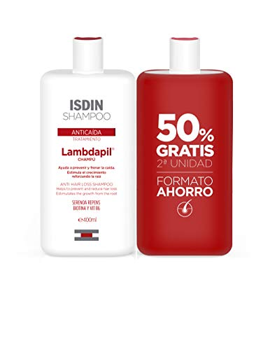ISDIN Lambdapil Tratamiento Champú Anticaída - Set 2 x 400