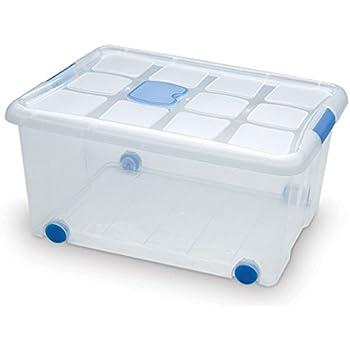Plastic Forte - Caja de ordenación n 6 31 litros: Amazon.es: Hogar