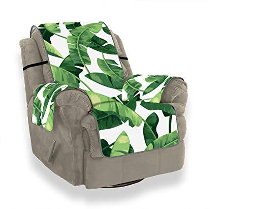 JOCHUAN Nahtloses tropisches Muster mit Bananenblättern Stuhl-Sofa-Schonbezug-Abdeckung für Sofa Sofa Covering Furniture Protector für Haustiere, Kinder, Katzen, Sofa