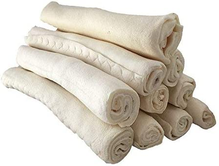 """123 Treats - Premium Rawhide Dogs 9-10"""" Super Special SALE held New arrival Rolls Retriever for"""