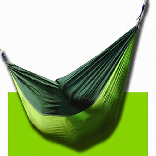 Hammock With Mosquito Net, Portable Camping Hammock, Ultralight Travel Windproof, Mosquito-Proof Camping Hammock Parachute Cloth