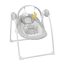 The lounger also has a music function Programmable Oscillation Timer From 8, 15 Or 30 Minutes You can easily transport the comfortable sand swing chair by folding it The lounger cushion is soft and comfortable for baby Bedroom For proper and safe use...
