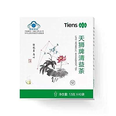 LIPID METABOLIC MANAGEMENT TEA By Tiens - With Gynostemma Herbal Tea - Green Tea - Cassia Seed - Many Amino Acids, Vitamins, Minerals - Calcium, Iron, Magnesium, Phosphorus, Potassium, Selenium, Zinc.