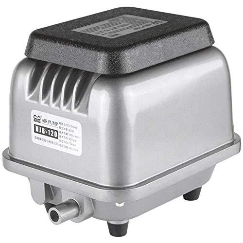CanKun Aquarium Luftpumpe, Superleise Luftpumpe Von60-280 Litern, Mit 1Luftauslässen,Leistungsstark Sauerstoffpumpe Für Aquarium,230W
