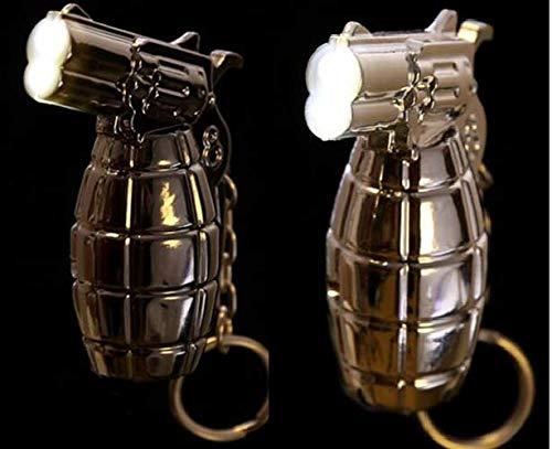 Portachiavi con torcia led a forma di granata bomba