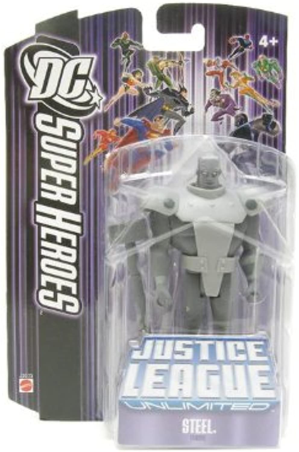 Mattel DC Super Heroes Justice League Unlimited Action Figure Steel