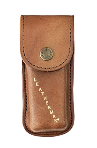 LEATHERMAN LT832594 Heritage Leather Sheath Extra Small Suitable for The Charge+ Skeletool and Wave, Brown