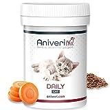 Aniveri Daily Cat für Katze/Katzen - Vitamine und Mineralstoffe/Vitamin B Komplex, 50g Pulver, Komplex hochdosiert, Nahrungsergänzungsmittel...