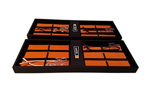switch it Box Sammelbox für bis zu 12 switch it Wechsel Bügel Garnituren in schwarz