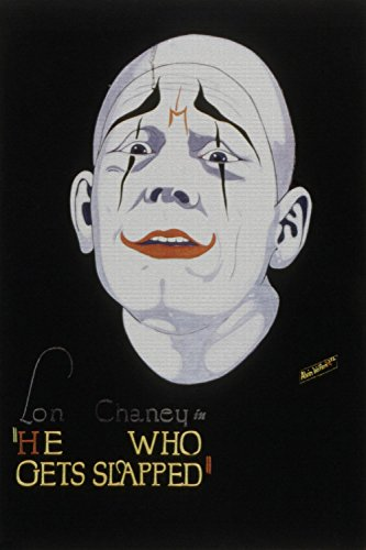 ODSAN He Who Gets Slapped, Lon Chaney, Norma Shearer, John Gilbert, Ruth King, 1924 - Foto-Reimpresión película Posters 24x36 pulgadas - sin marco