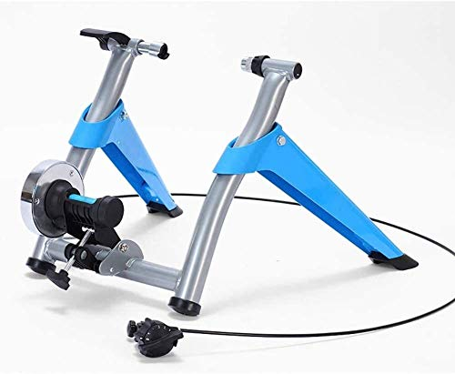 Bike Trainer Stand for Indoor Training Race Training with Noise Reduction Wheel Lightweight Easy Travel Bike Turbo Trainer