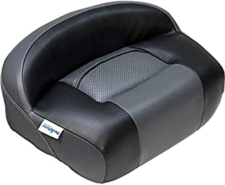 DeckMate Lean Pro Fishing Seat (Charcoal and Black)