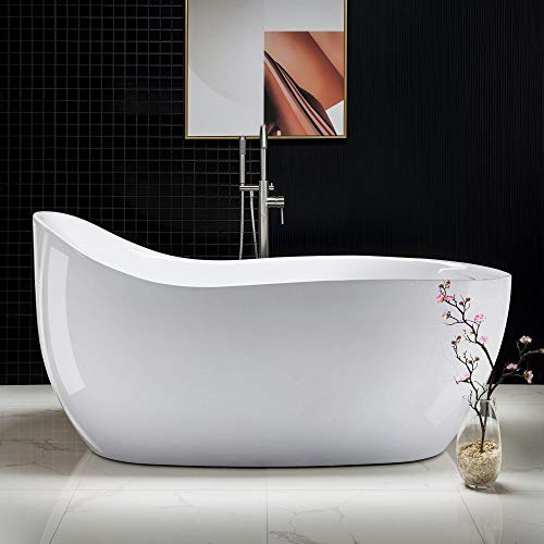 WoodbridgeBath WOODBRIDGE 67' Acrylic Freestanding Bathtub...