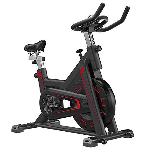 OUYA Bicicleta De Ciclismo para Interiores Estacionaria, Bicicleta Estática para Gimnasio En Casa con Cómodo Cojín De Asiento para Entrenamiento Cardiovascular,A