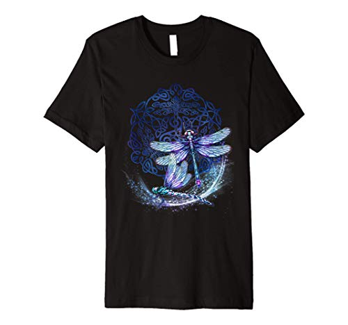 Celtic Knot Dragonfly T-Shirt
