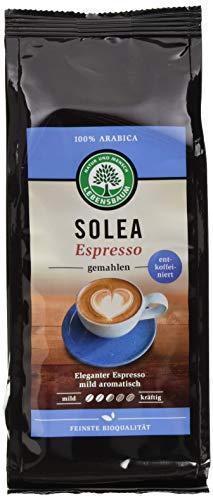 Lebensbaum Solea Espresso Entkoffeiniert, gemahlen, 250 g