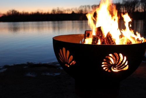 Check Out This Beachcomber Fire Pit Ignition: Electronic, Fuel Type: Liquid Propane
