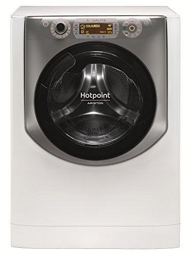 Hotpoint AQD1071D 697EU/A Independiente Carga superior A-10% Acero inoxidable, Blanco